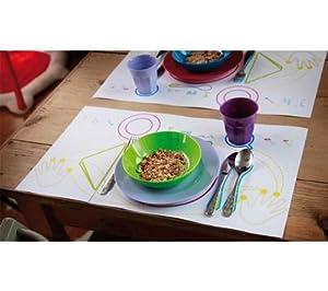 30 sets de table papier pour enfant bonne - Set table enfant ...