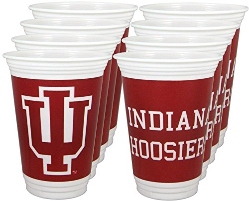 Collegiate Cups Indiana Package of 8
