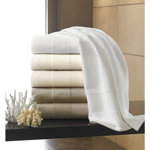 Kassatex Hotel Collection Towels, Bath Towel - White