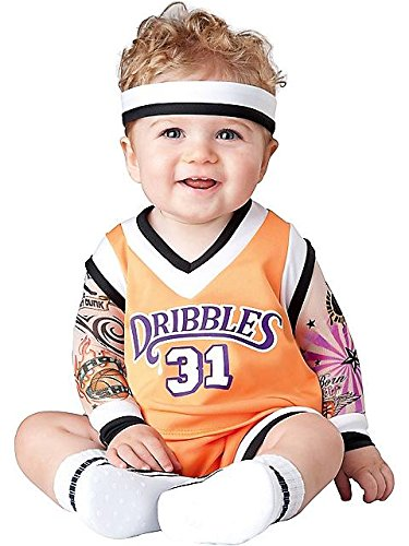 Baby Boys' Double Dribble Basketball Costume Large (18 Mos-2T) front-845742