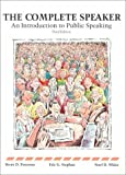 img - for Complete Speaker: An Introduction to Public Speaking by Brent D. Peterson (1992-01-01) book / textbook / text book