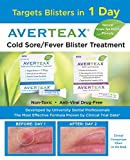 Cold Sore Treatment by AverTeaX Best Cold Sore Medication for Fast Relief, Clinically Proven Targets Blister in 1 Day, 0.25 Ounce