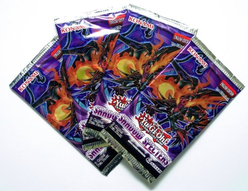YuGiOh Shadow Specters Lot of 4 Booster Packs - 1