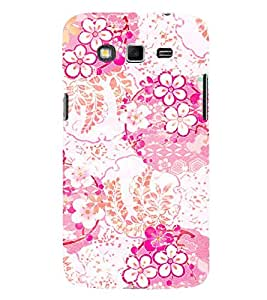 Floral Painting 3D Hard Polycarbonate Designer Back Case Cover for Samsung Galaxy Grand 2 G7102 :: Samsung Galaxy Grand 2 G7106
