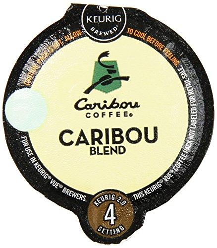 32 Count - Caribou Blend Vue Cup Coffee For Keurig Vue Brewers (Keurig 5 Cup compare prices)