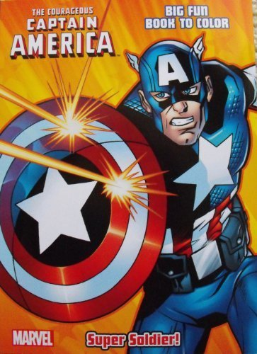 Captain America Coloring & Activity book ~ Cover Art Varies ~ 96 Pg
