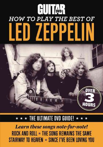 Guitar World: How to Play the Best of Led Zeppelin [DVD] [Import]