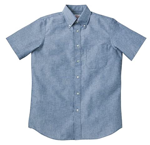 (プリントスター)Printstar オックスフォードボタンダウンシャツ 半袖 00801-OSS