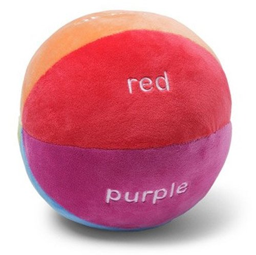 "Gund Brights Colorful Sports Ball 4"" 320748 (Assorted) - 1"