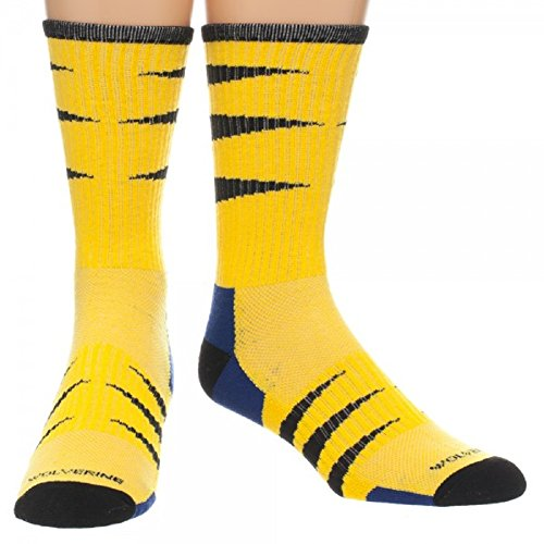 Marvel Wolverine Performance Crew Socks