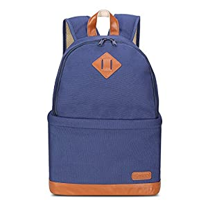 Kattee Professional Canvas SLR DSLR Camera Backpack Laptop Bag Case