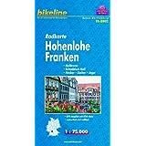 """Bikeline Radkarte: Hohenlohe Franken, Heilbronn - Schw�bisch Hall - Neckar - Kocher - Jagst, RK-BW02. 1 : 75.000, wasserfest/rei�fest, GPS-tauglich mit UTM-Netzvon """"Esterbauer"""""""