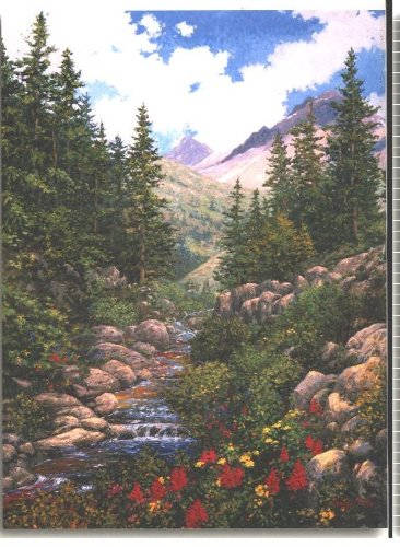 Mountain Waters 550 Piece Jigsaw Puzzle Schaefer Miles