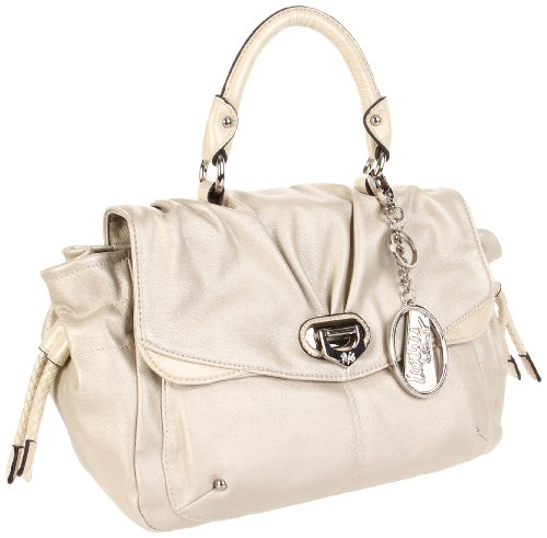 Buy Today KATHY Van Zeeland Pretty Young Thing H65705 Satchel,Metallic