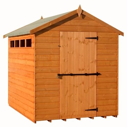 Woodlands Security Apex Shed : Size - 12 X 8