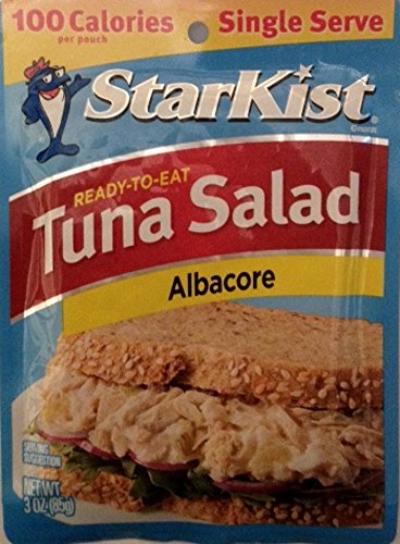 StarKist Tuna Salad, Albacore, 3-Ounce Pouch (Pack of 6) renew avalon organics vitamin c hydrating cleansing milk 8 5 ounce bottle pack of 6