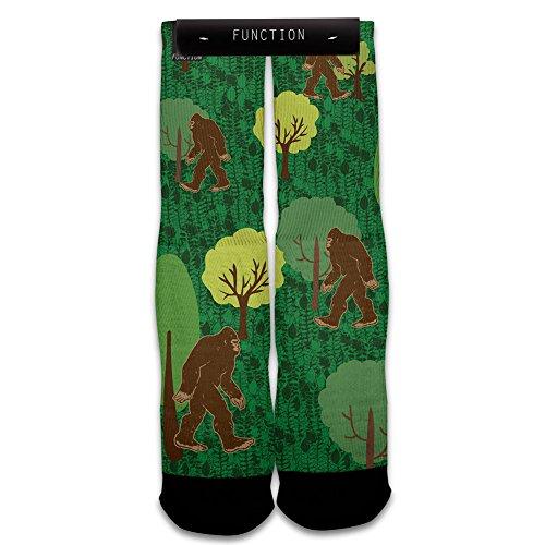 Function - Big Foot Printed Sock