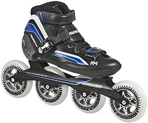 Powerslide Speed Skates R4 - Patines en línea, color negro, talla 42
