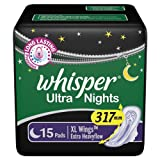 Whisper Ultra Nights - 15 Pads (XL Wings)