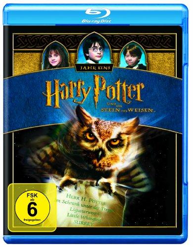 Harry Potter und der Stein der Weisen (1-Disc) [Blu-ray]