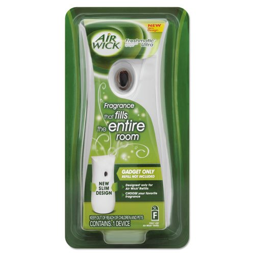 Air Wick Freshmatic Ultra Automatic Spray Dispenser, 4 3/5W X 3 5/16D X 9H, White - Four Dispensers.
