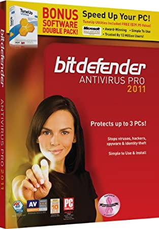 Bitdefender Antivirus 2011 with Tuneup 3Pc/1Yr