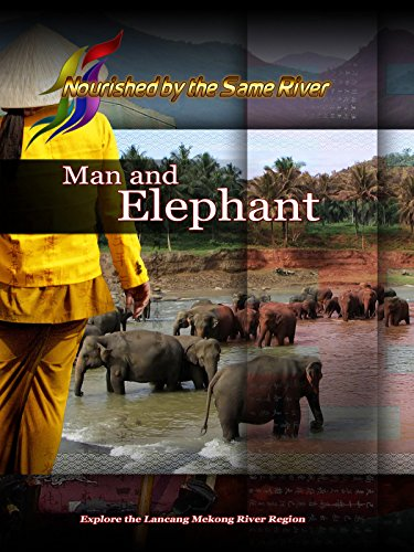 Nourished by the Same River - Man and Elephant