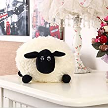 Shaun the Sheep Plush Toy Shirley Color White 40cm Large