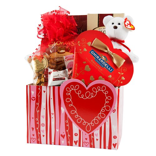 Great Gifts Baskets Heart's Desire - Ghirardelli