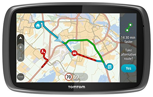 Best Price TomTom GO 6100 6 inch Sat Nav with World Maps and