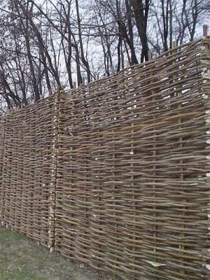 Hazel hurdles fencing panel 6ft x 6ft