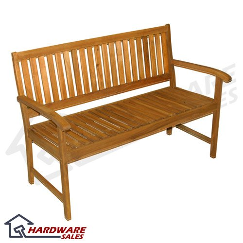 Contemporary Acacia Hardwood Patio Bench