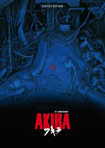 Akira 25th Anniversary Limited Edition Box (Blu-Ray+Dvd+Cd+Libro) [Italian Edition]