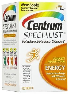 Centrum Specialist Energy, 120 Count