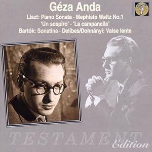 Géza Anda Plays Liszt, Bartók and Dohnányi