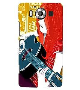 TOUCHNER (TN) Colorfull Music Back Case Cover for Nokia Lumia 950::Microsoft Lumia 950