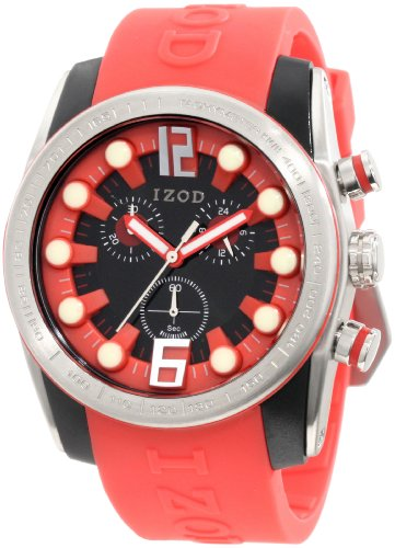 IZOD Men's IZS2/8 RED Sport Quartz Chronograph Watch