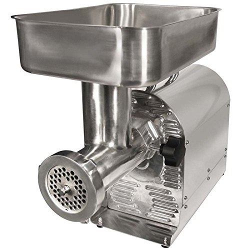 Weston No. 12 Commercial Meat Grinder and Sausage Stuffer, 3/4-HP (Pro Meat Grinder compare prices)