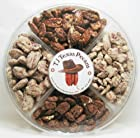 TJ Texas Pecans Candied Pecan 4 Flavor Variety Nut Gift Pack