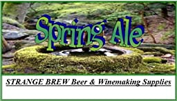 Strange Spring Ale Strange Brew Beer Ingredient Kit