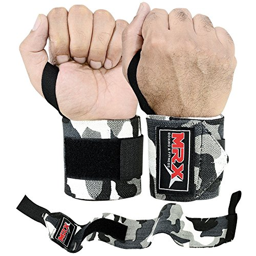 us-shipping-18-weight-lifting-training-wrist-support-wraps-gym-bandage-straps-camo-grey