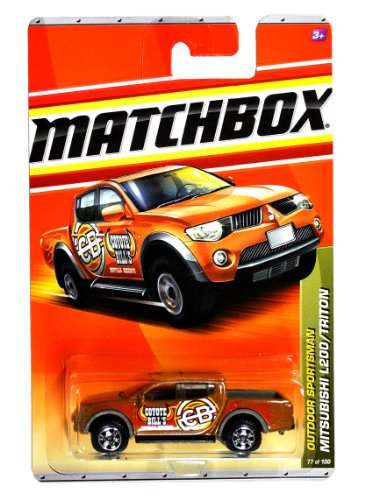 Mattel Year 2010 Matchbox MBX Outdoor Sportsman Series 1:64 Scale Die Cast Car #77 - Metallic Brown Color