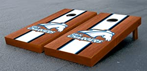 University of Alabama in Huntsville UAH Chargers Cornhole Game Set Stained Wooden by Gameday Cornhole