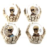Skull Water ball in Skeleton Hand. A perfect gift for that Birthday Gift, Christmas Present or Fathers day gifts etc...