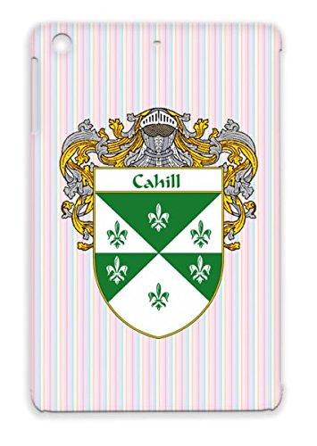 Last Name Cahill Coat Of Arms Ireland Irish Scotland Surname Shield Heritage Family Crest Gaelic Wales Countries Flags Cities Ancestry England Celtic Cahill Mantled Dustproof For Ipad Mini White Case front-600417