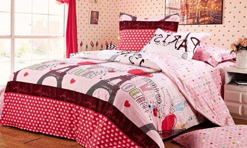 Eiffel Tower Bedding Twin 5715 front