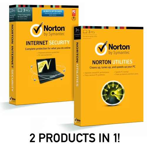 Norton Internet Security 2014 & Norton Utilities Bundle (for up to 3 PC