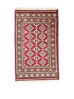 QURAMA Alfombra Kashmir Rojo/Multicolor 125 x 77 cm