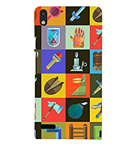 Printvisa Check Pattern With Different Contents Back Case Cover for Huawei Google Nexus 6P