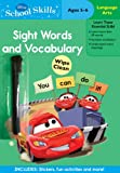 Disney School Skills: Cars Sight Words and Vocabulary